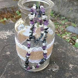 Jewelry - 3/$15 TCU bead necklace